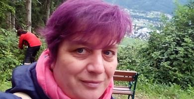 Dr. Schreibers® Klimawechselbotschafterin Andrea