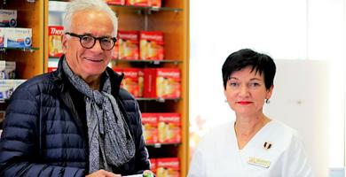 Dr. Schreiber und Apothekerin Mag. Mammerler setzten sich für Frauen in den Wechseljahren ein
