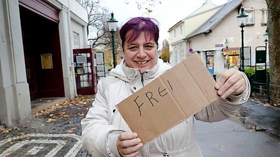 Andrea ist jetzt frei für ihre Wünsche und akzeptiert die Wechseljahre