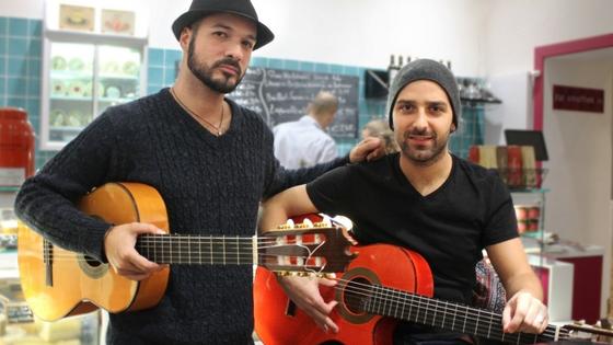 Daniel Serrano verwöhnt uns mit seinen Flamenco-Klängen