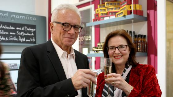 Unsere Klimawechsel-Botschafterin Gabi mit Dr. Hartwig Schreiber